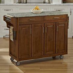 Home Styles 4-Door Create-a-Cart Kitchen Cart