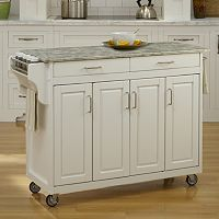 Home Styles 4-Door Create-a-Cart Kitchen Cart
