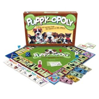 Late For The Sky Puppy-opoly Game