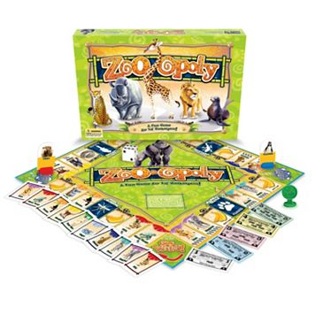 Late For The Sky Zoo-opoly Game