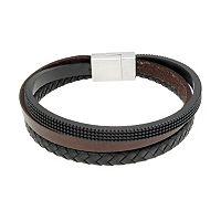 LYNX Stainless Steel Multistrand Bracelet - Men