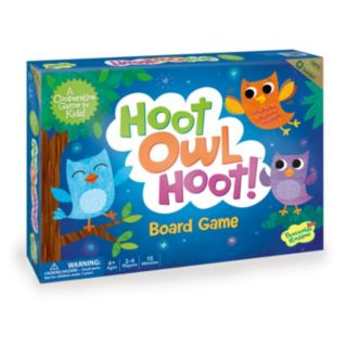 Hoot Owl Hoot Board Game by Peaceable Kingdom