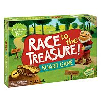 Race To The Treasure! Board Game by Peaceable Kingdom