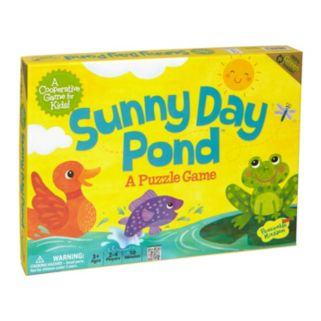 Sunny Day Pond Puzzle Game by Peaceable Kingdom
