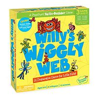 Willy's Wiggly Web Cutting Game by Peaceable Kingdom