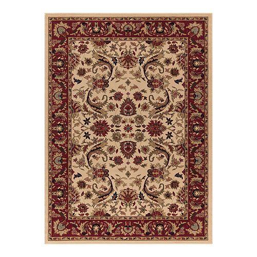Merinos Sultanabad Floral Framed Rug