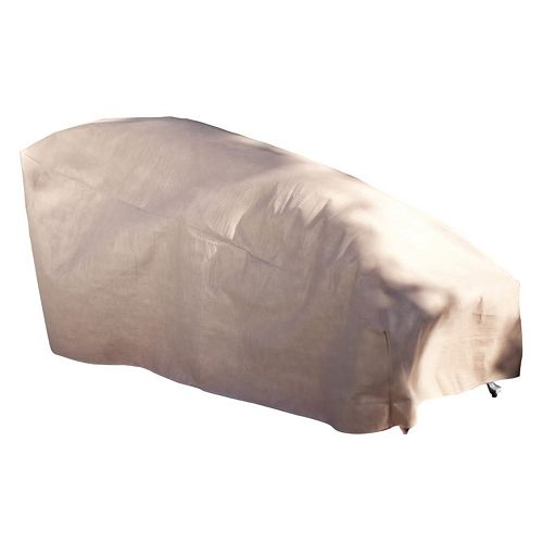 Duck Covers Elite 74-in. Patio Chaise Lounge Cover and Inflatable Airbag