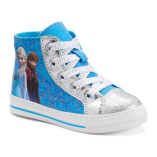 Disney's Frozen Elsa & Anna Girls' Hi-Top Shoes