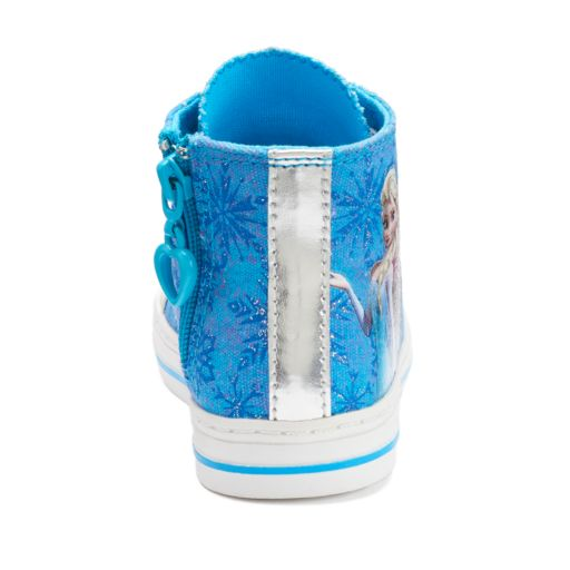 Disney's Frozen Elsa & Anna Girls' Hi-Top Shoes