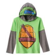Teenage Mutant Ninja Turtles Leonardo Hooded Costume Tee - Boys 4-7