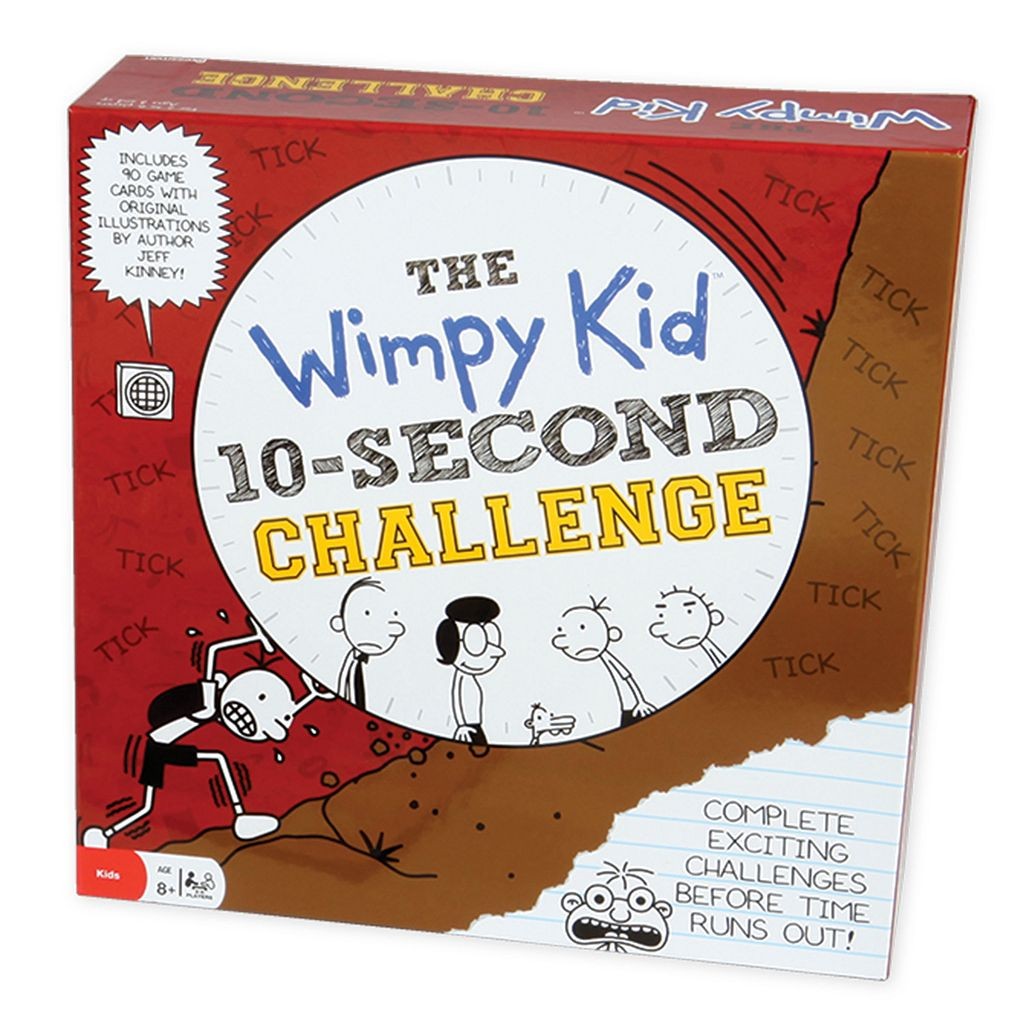 The Wimpy Kid 10-Second Challenge by Pressman Toy