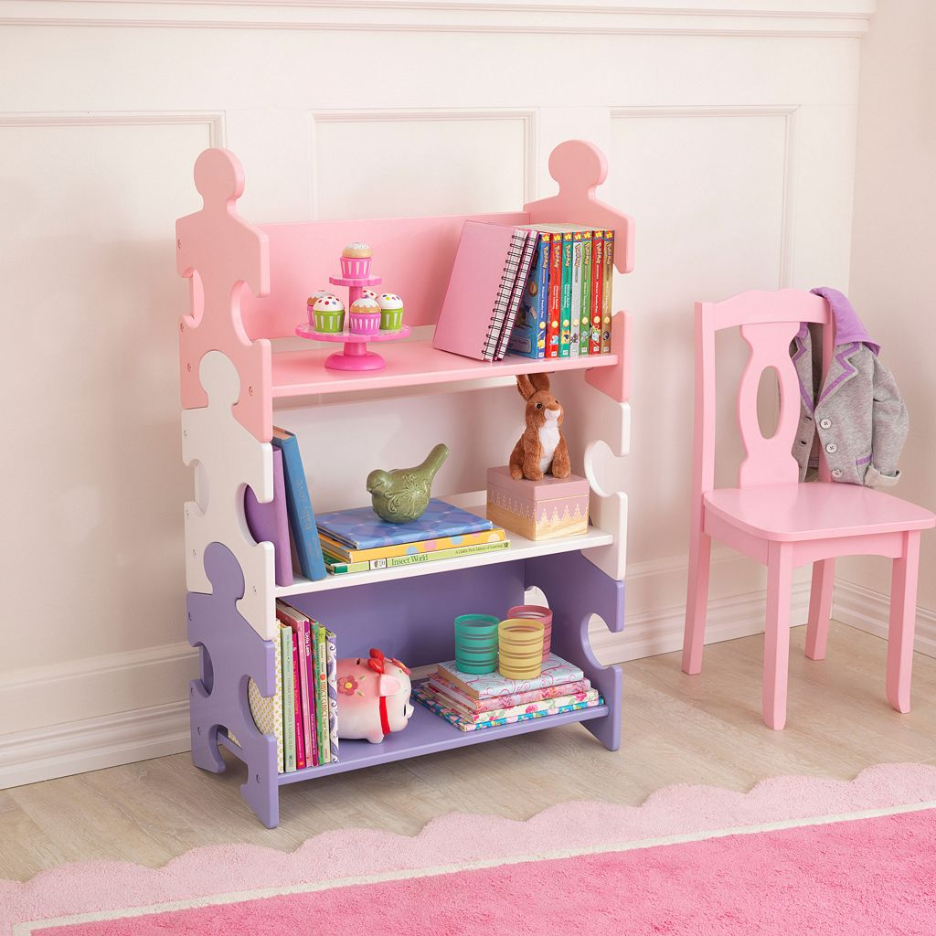 KidKraft Puzzle Book Shelf