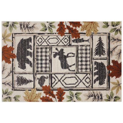 "Mohawk Home Woolrich Autumn Leaves Lodge Rug – 9'6"" x 12'11"""