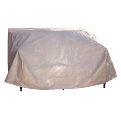 Duck Covers Elite 54 in Patio Loveseat Cover and Inflatable Airbag