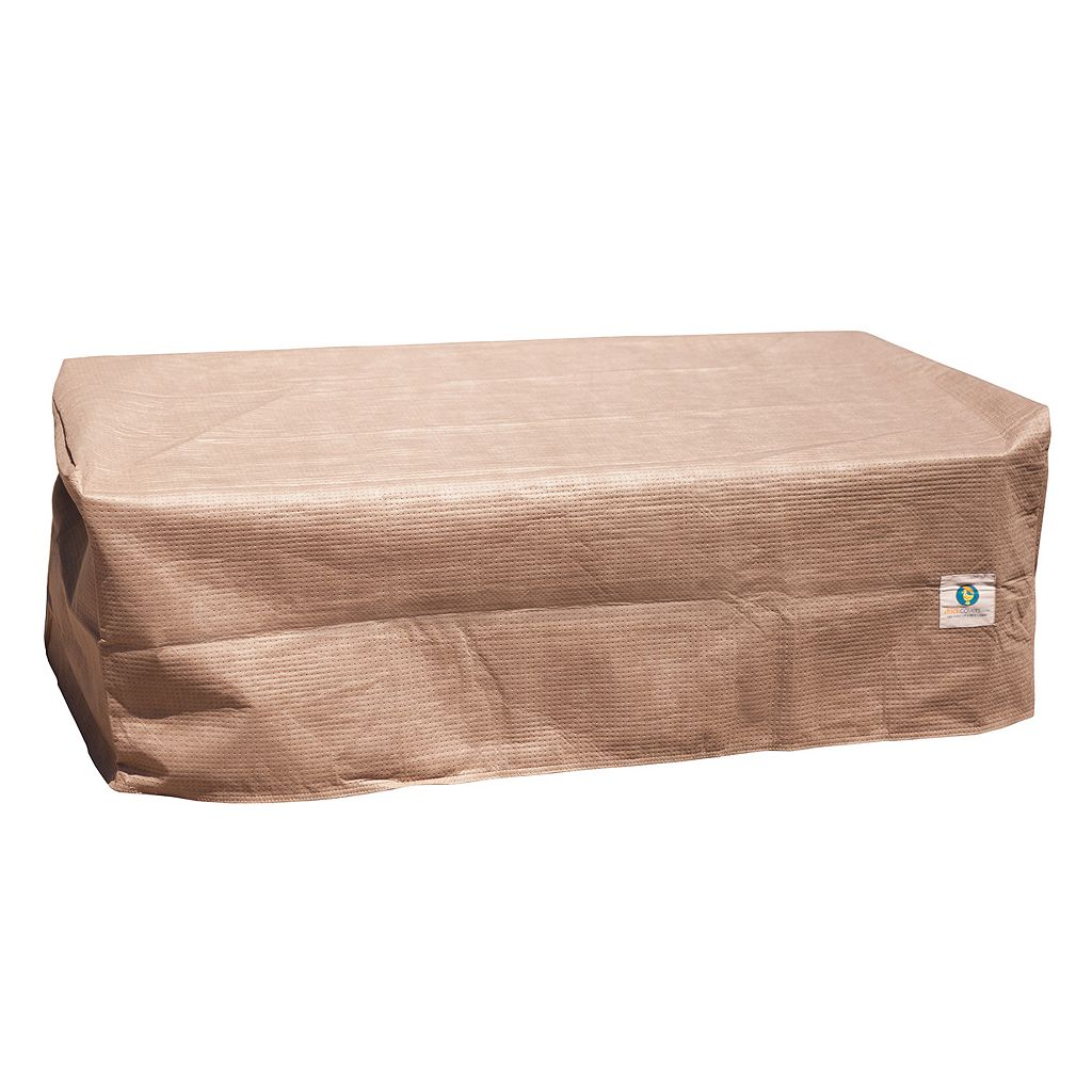 Duck Covers Elite 40-in. Patio Ottoman and Table Cover