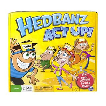 Hedbanz Act Up! Game by Spin Master