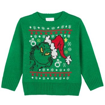 dr seuss how the grinch stole christmas toddler sweater - How The Grinch Stole Christmas Sweater
