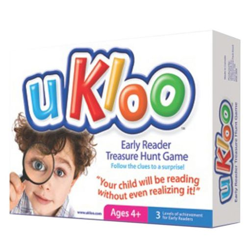 uKloo Early Reader Treasure Hunt Game by uKloo Kids Inc.