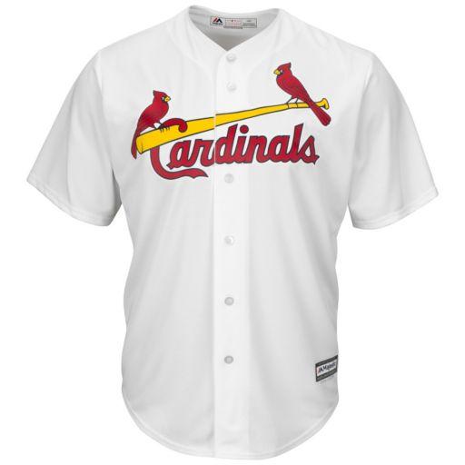 Men's Majestic St. Louis Cardinals #1 Dad Replica Jersey