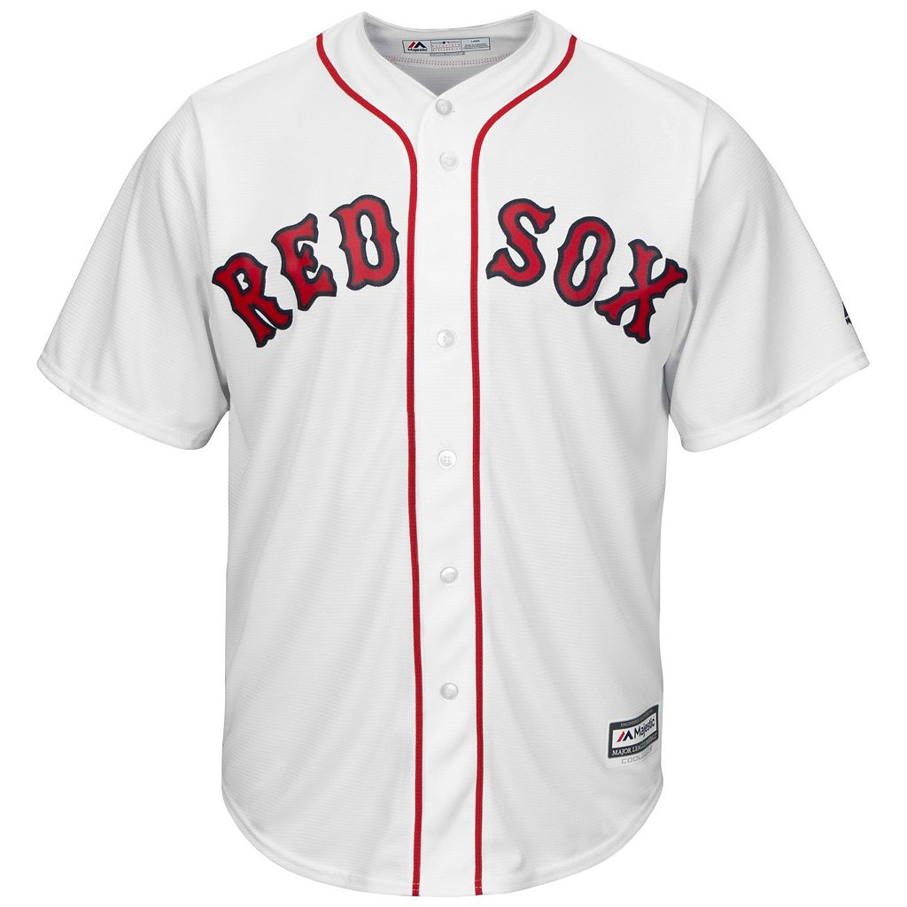 Men's Majestic Boston Red Sox #1 Dad Replica Jersey