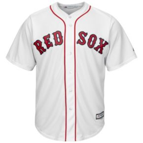 Men's Majestic Boston Red Sox #1 Dad Replica Jersey