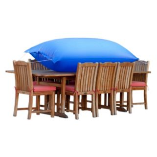 Duck Covers Elite 109-in. Rectangle Patio Table Cover and Inflatable Airbag
