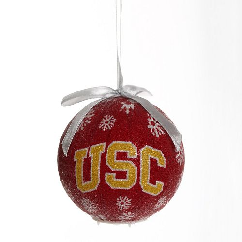 USC Trojans LED Ball Christmas Ornament