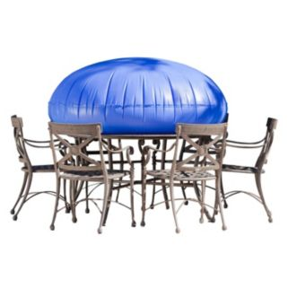 Duck Covers Elite 76-in. Round Patio Table Cover and Inflatable Airbag