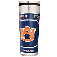 Auburn Tigers 22-Ounce Stainless Steel Metallic Travel Tumbler