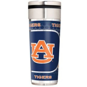 Auburn Tigers 22-Ounce Stainless Steel Metallic Travel Tumbler