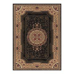 Merinos Chateau Floral Framed Rug