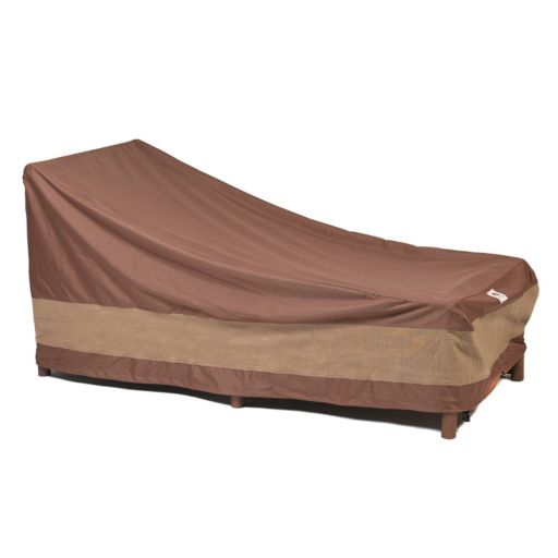 Duck Covers Ultimate 74-in. Patio Chaise Lounge Cover