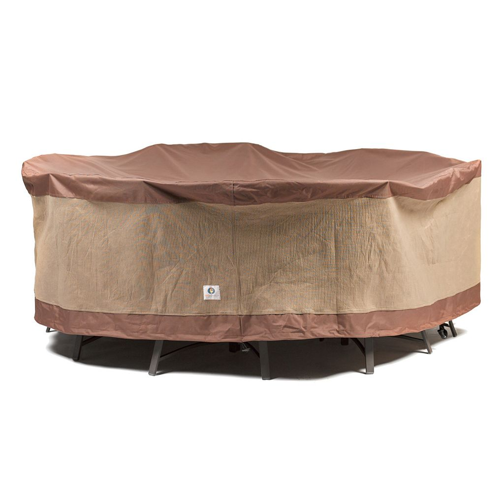 Duck Covers 90-in. Round Table and Chairs Cover