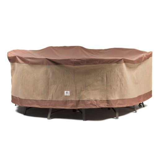 Duck Covers 108-in. Round Table and Chairs Cover
