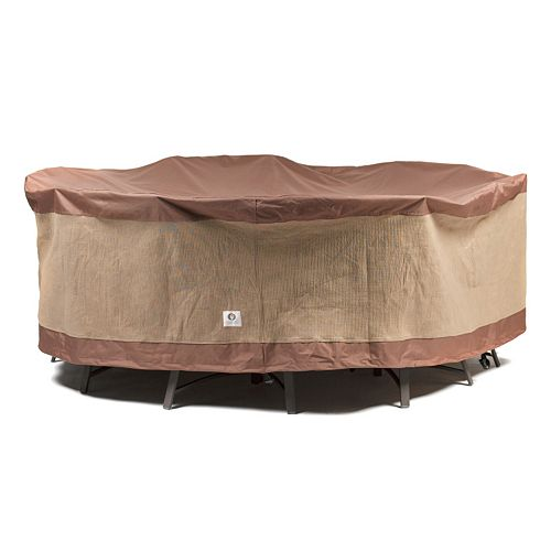 Duck Covers 76-in. Square Table and Chairs Cover