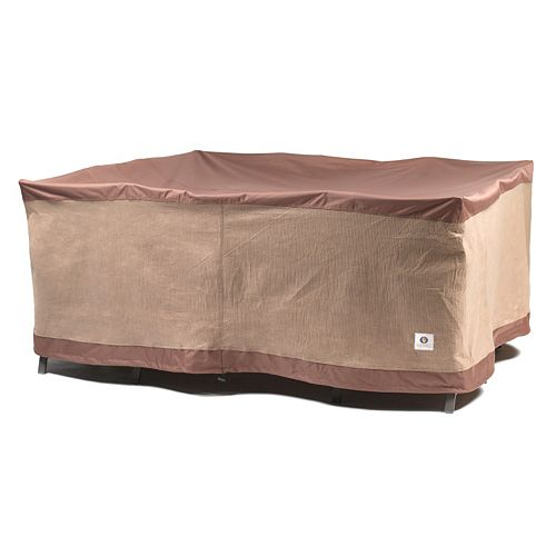 Duck Covers 92-In. Square Table and Chairs Cover