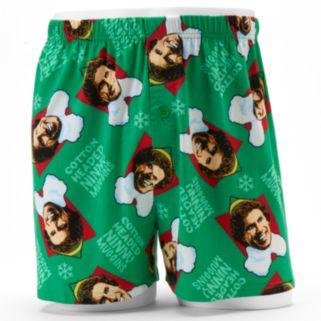 Men's Elf Boxers in a Tin