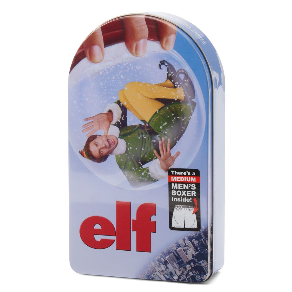 Men's Elf Boxers in a Tin