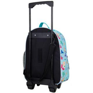 Kids Wildkin Print Rolling Suitcase