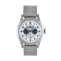 Peugeot Men's Stainless Steel Watch - 1049S
