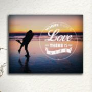 ''Love and Life'' Wall Art