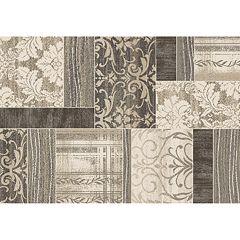 Merinos Symphony Geometric Mosaic Rug