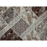 Merinos Lynx Geometric Animal Print Rug