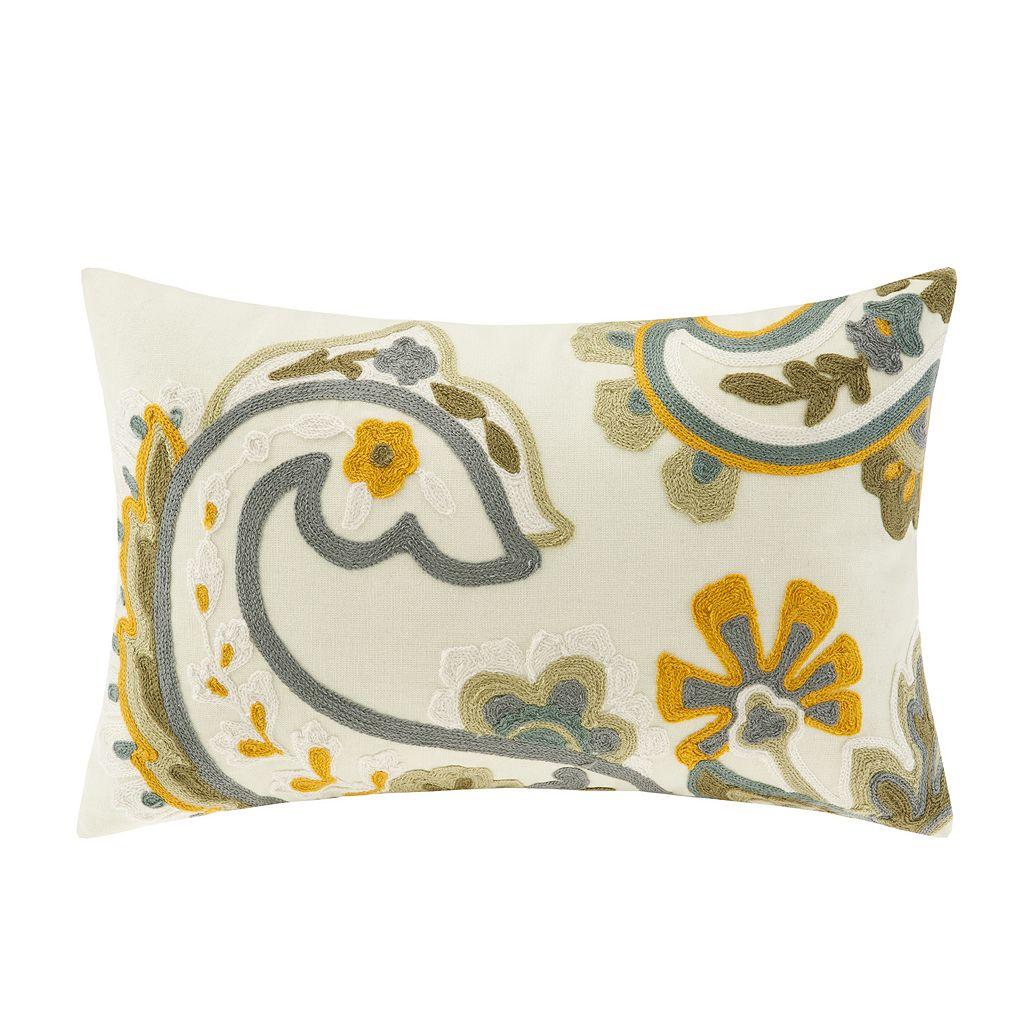 HH Suzanna Floral Paisley Throw Pillow