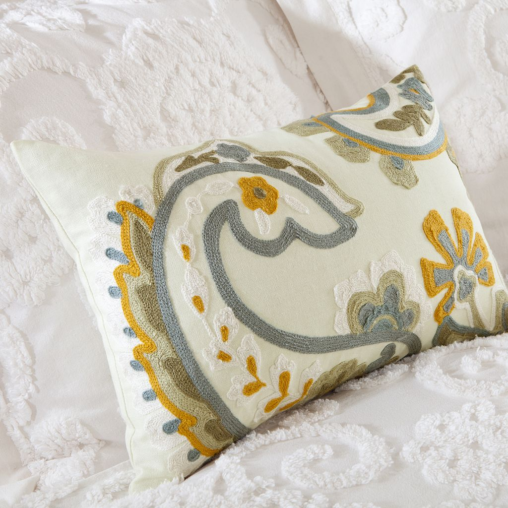HH Suzanna Floral Paisley Throw Pillow