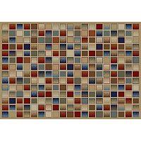 Merinos Checkboard Geometric Rug