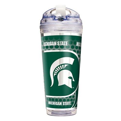 Michigan State Spartans Acrylic Tumbler With Metallic Wrap