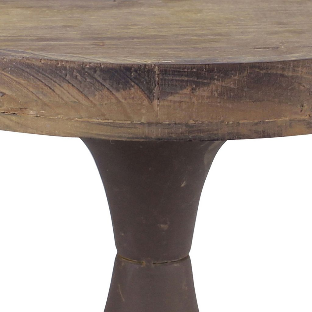 Stonebriar Collection Rustic Pedestal Decor