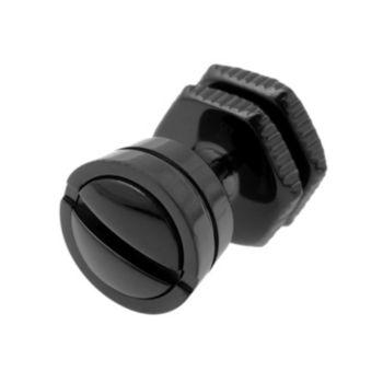 LYNX Black Ion-Plated Stainless Steel Nailhead Stud - Single Earring