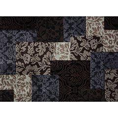 Merinos Vintage Geometric Damask Rug